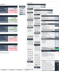 free free roi templates and calculators smartsheet return on investment analysis template excel