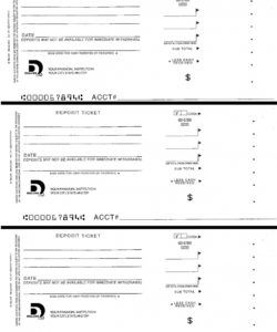 free download and print to practice filling out a deposit slip deposit slip template for students word