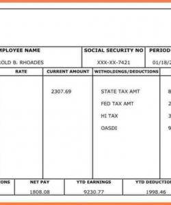 sample 017 template ideas blank pay stubs striking payroll stub direct deposit check stub template word