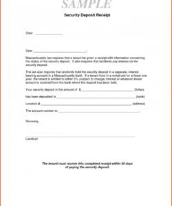 015 rent deposit receipt template word free ideas security rental deposit receipt template doc