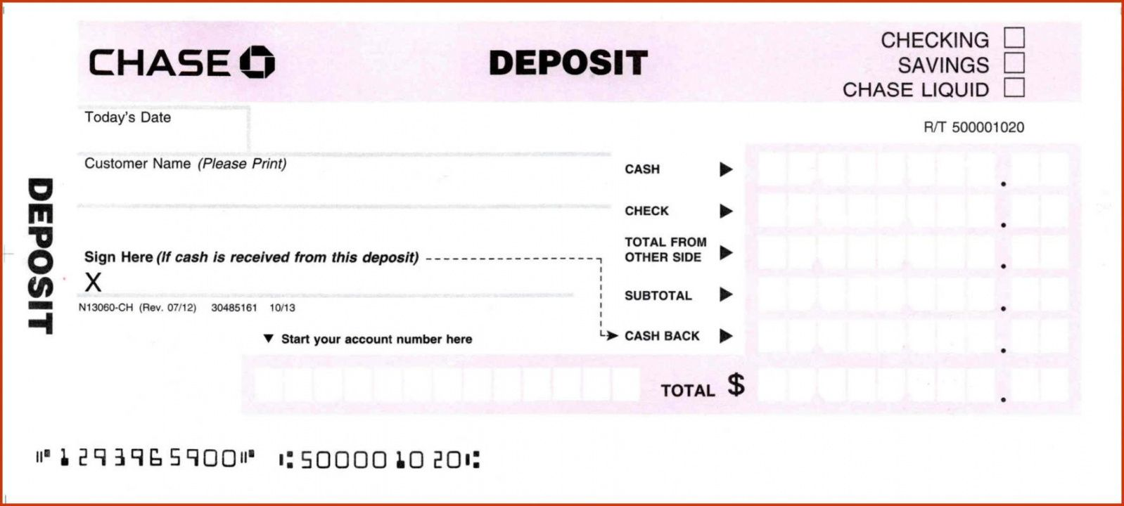 editable 010 deposit slips template slip chase word singular ideas bank deposit slip template
