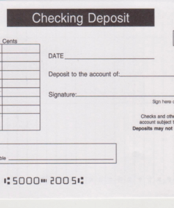 editable regions bank deposit slip  free printable template bank deposit slip template excel