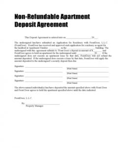 editable vehicle deposit form  2 free templates in pdf word excel vehicle deposit agreement form doc