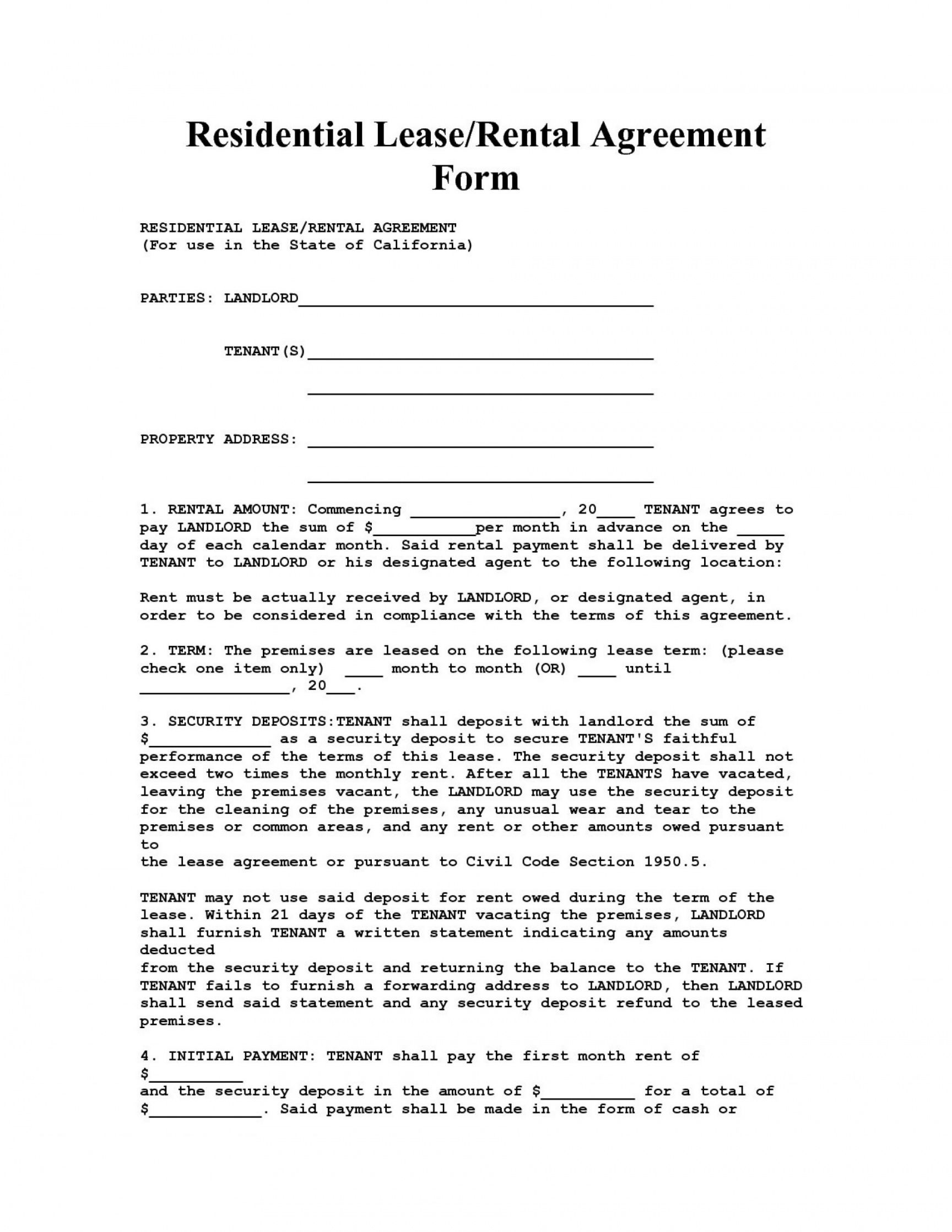 free 10 apartment rent agreement format  resume samples apartment rental deposit agreement doc