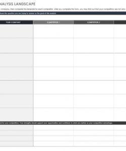 free competitive analysis templates  smartsheet competitive pricing analysis template pdf