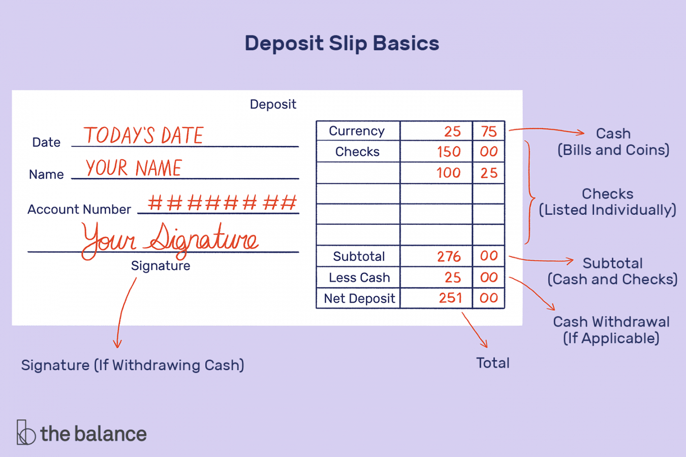 how to fill out a deposit slip regions bank deposit slip template excel