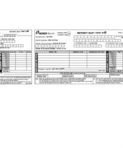printable 37 bank deposit slip templates & examples ᐅ template lab cash deposit slip template