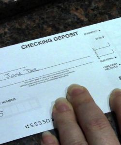 printable how to complete a deposit ticket regions bank deposit slip template