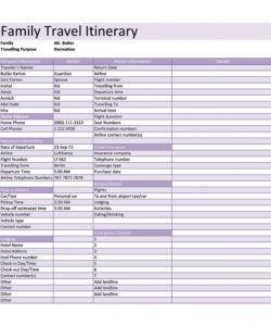 free 30 itinerary templates travel vacation trip flight leisure travel itinerary template excel