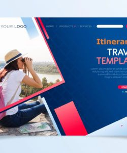 printable travel itinerary template  itinerary templates luxury travel itinerary template pdf