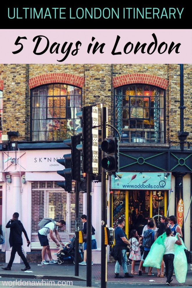 editable 5 days in london an ideal london itinerary ~ world on a whim london travel itinerary template word
