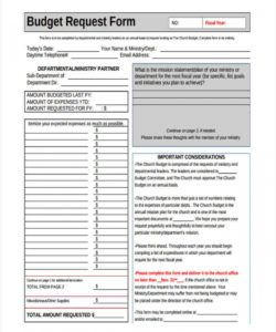 editable free 6 church budget forms in pdf  excel church event budget template example