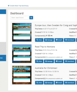editable travel itinerary template software for travel agencies travel agent itinerary template excel