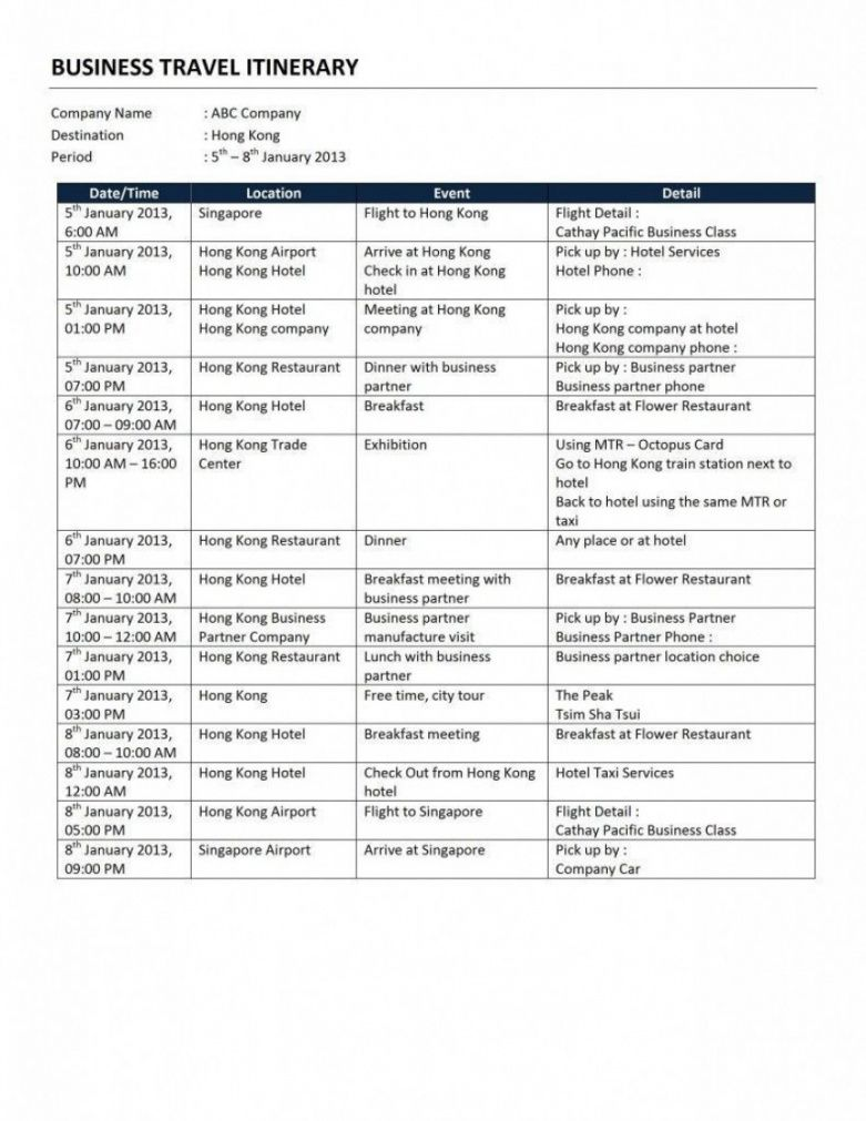editable travel itinerary template word ~ addictionary travel planner itinerary template excel