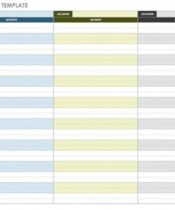free 21 free event planning templates  smartsheet programme itinerary template example