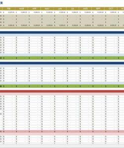 free financial planning templates  smartsheet financial planning budget template sample