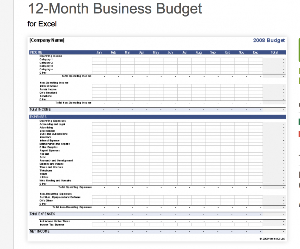 free small business rt up budget worksheet planner spreadsheet small business startup business budget template pdf