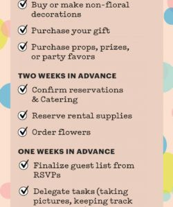 planning a baby shower your ultimate howto guide  parents baby shower itinerary template example