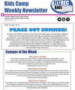 printable 12 camp newsletter templates free pdf psd format download youth camp budget template sample