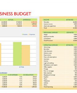 printable 37 handy business budget templates excel google sheets ᐅ law firm budget template word