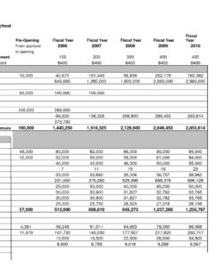printable charter school budget template • business template ideas private school budget template pdf