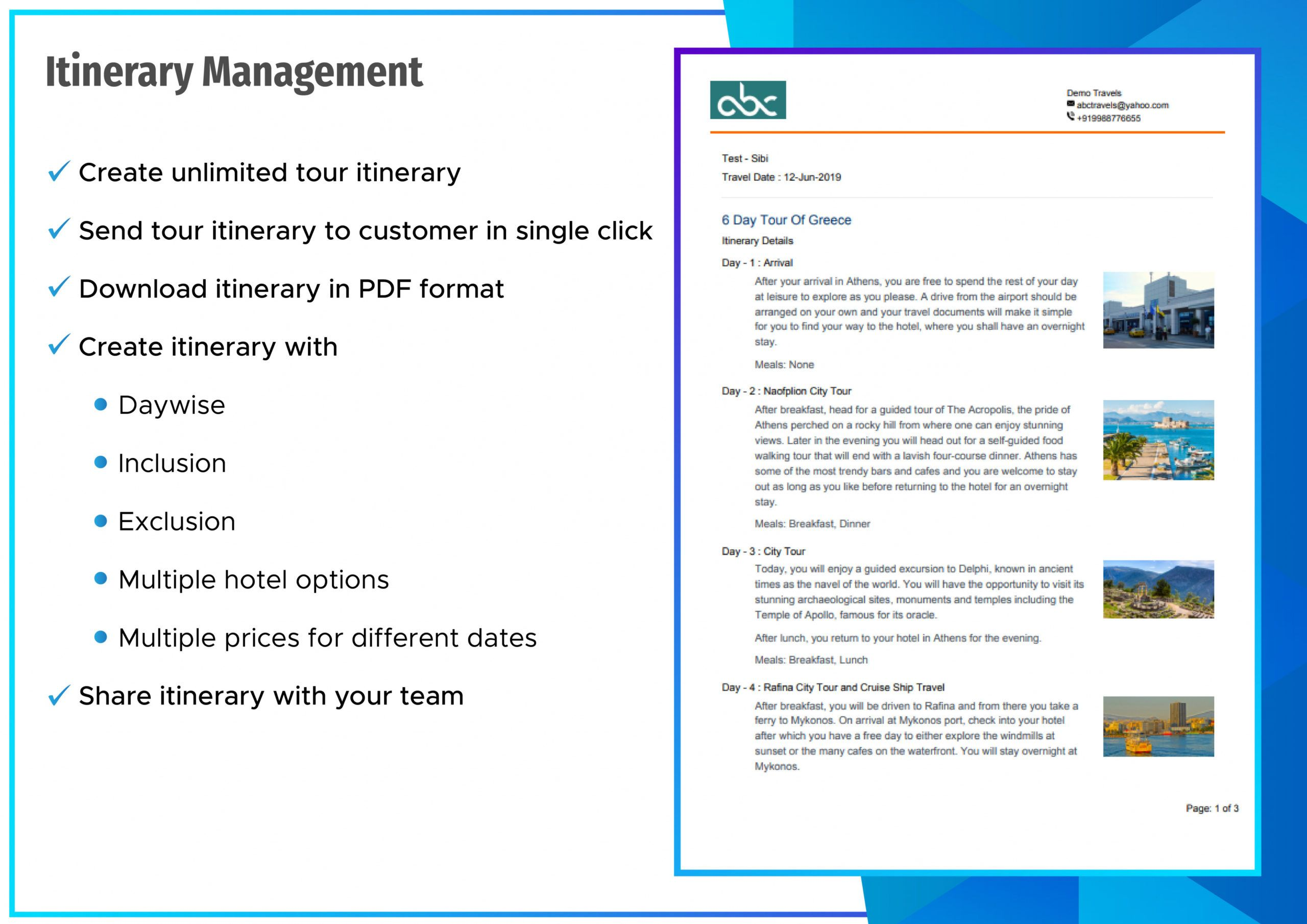 printable travel ceo itinerary management  travel ceo  travel agency travel agent itinerary template example