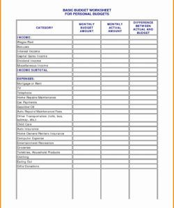 salon heet free expenses and income hair stylist beautiful salon budget template pdf