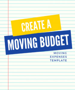 sample create a realistic moving budget using this guide office move budget template excel