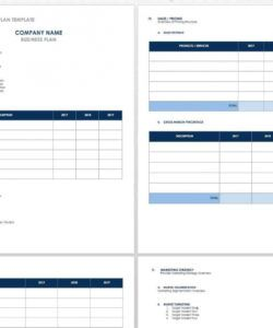 sample free startup plan budget & cost templates  smartsheet small business startup business budget template excel