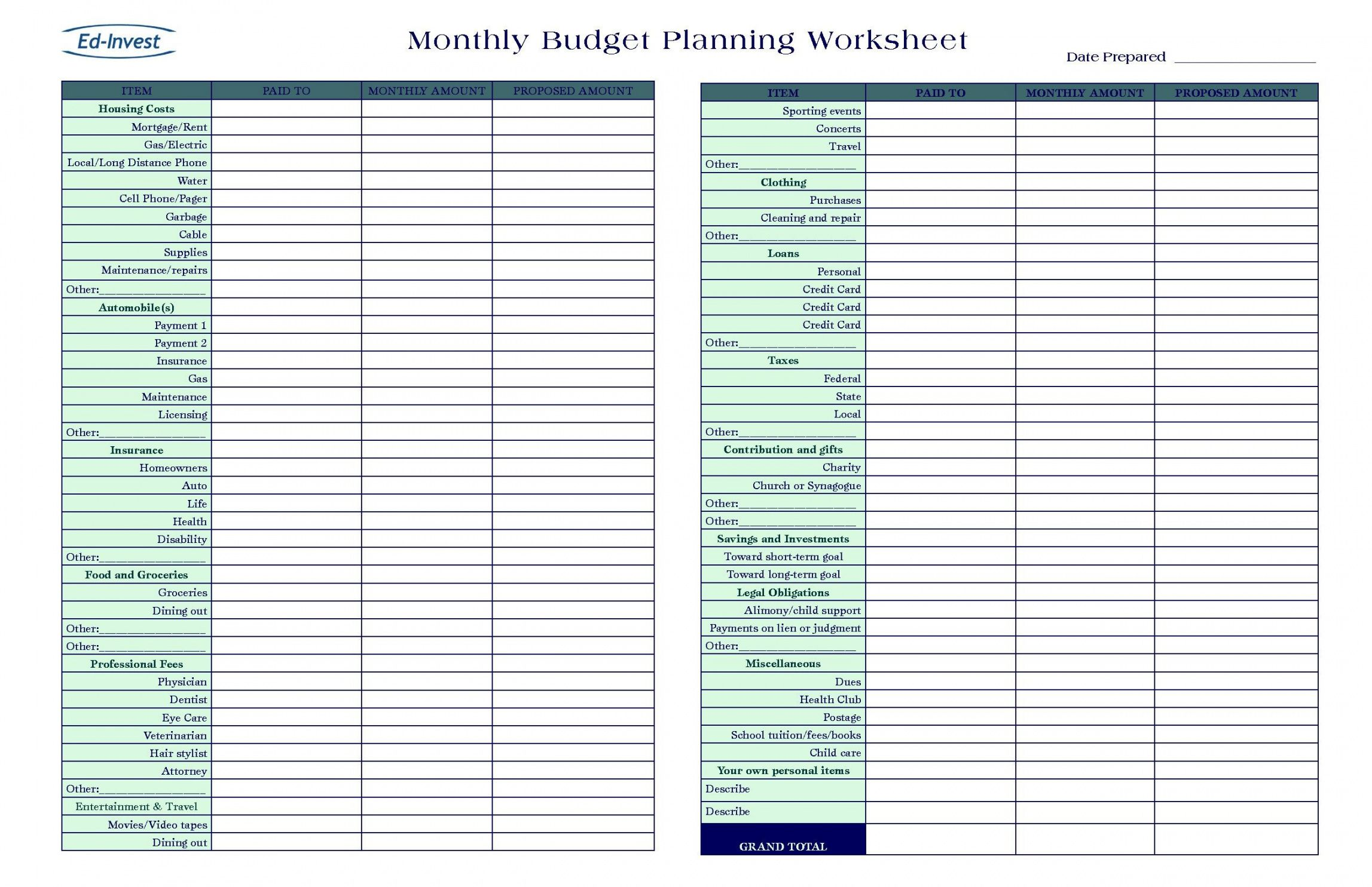 sample spreadsheet budget excel template new exceltemplate xls church event budget template excel