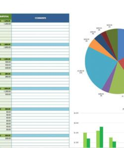 12 free marketing budget templates  smartsheet trade show budget template word