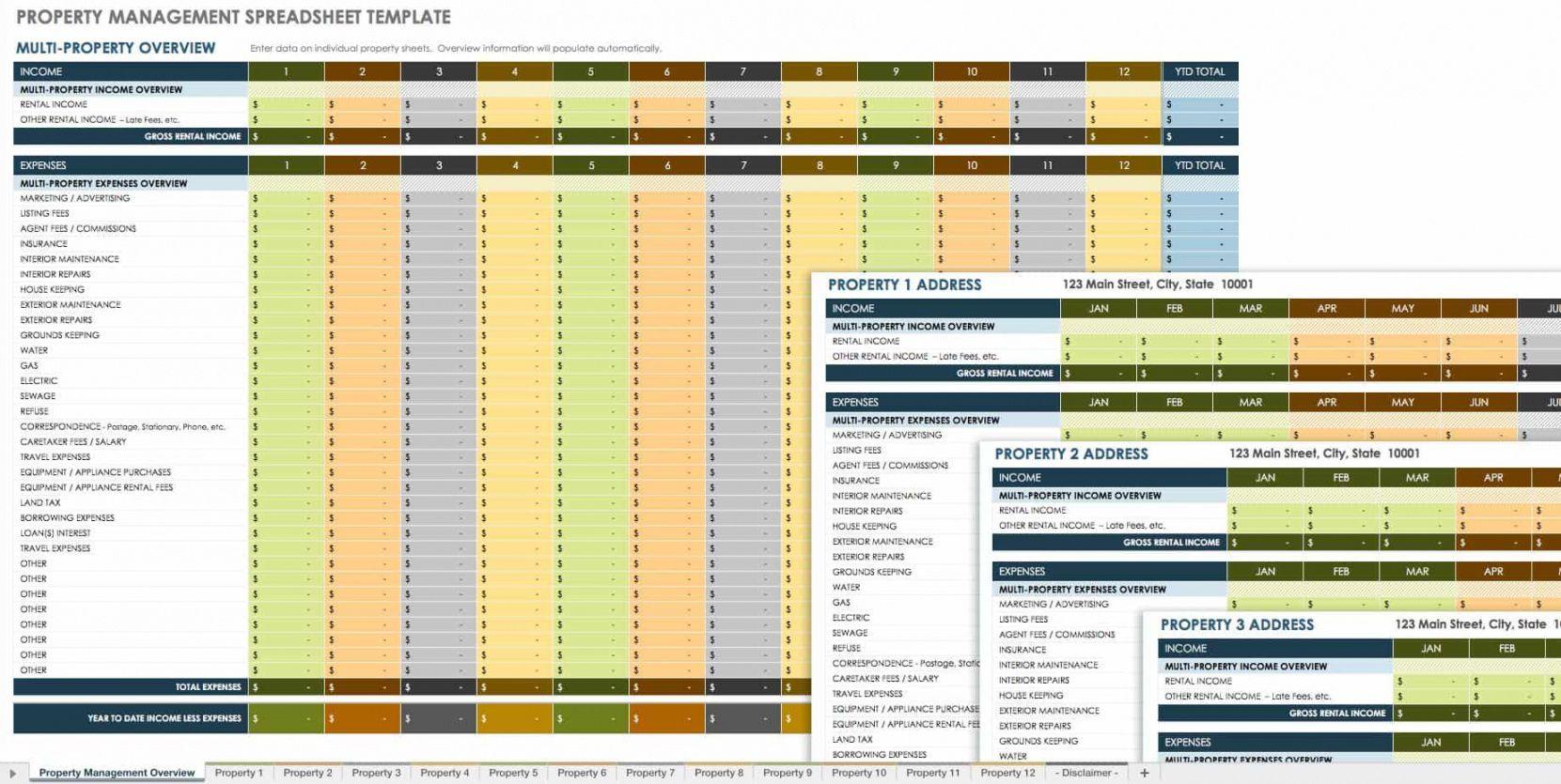 18 free property management templates  smartsheet facilities management budget template doc