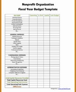 editable ✓ free printable non profit budget template  zitemplate small nonprofit budget template