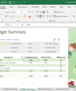 editable quick excel budget template — fire the family point zero budget template pdf