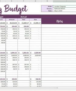 indian wedding planner excel sheet planning checklist marriage budget template word