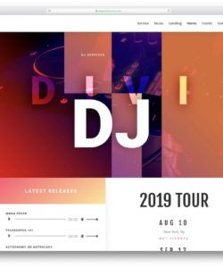 printable 21 musician website templates for singers and bands 2020 musician budget template word