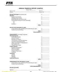 printable treasurer report template non profit ~ addictionary budget template for non profit organisation sample