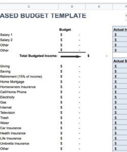 printable zero based et templates spreadsheet free excel best monthly zero based budget template for business example
