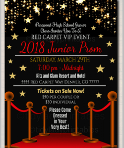 12 prom flyer designs & templates  psd ai  free red carpet event flyer template pdf