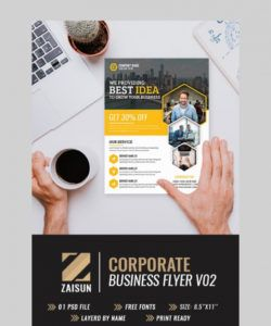 40 business flyer templates creative layout designs community service flyer template and sample