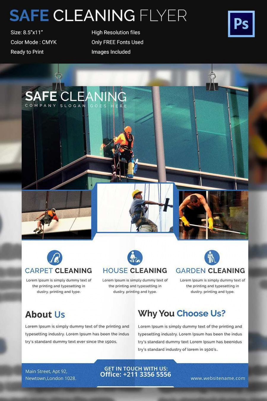 88 customize window cleaning flyer template psd file for window cleaning flyer template
