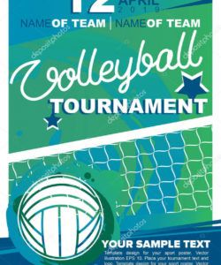 99 visiting volleyball tournament flyer template layouts volleyball tournament flyer template