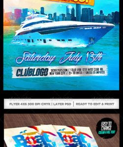 boat flyer graphics designs & templates from graphicriver boat cruise flyer template and sample