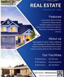 download free house for sale real estate flyer design templates sell your house flyer template doc