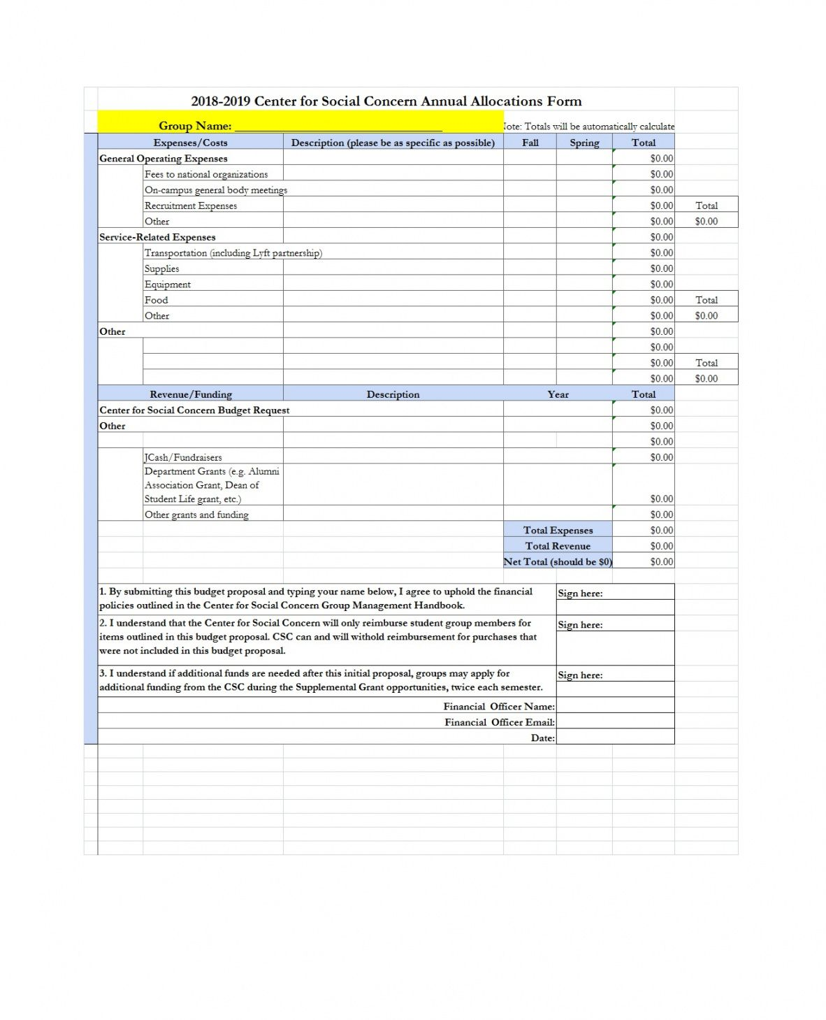 editable 50 free budget proposal templates word & excel ᐅ templatelab grant project budget template pdf
