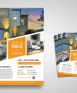 flyer template  house for sale sell your house flyer template and sample