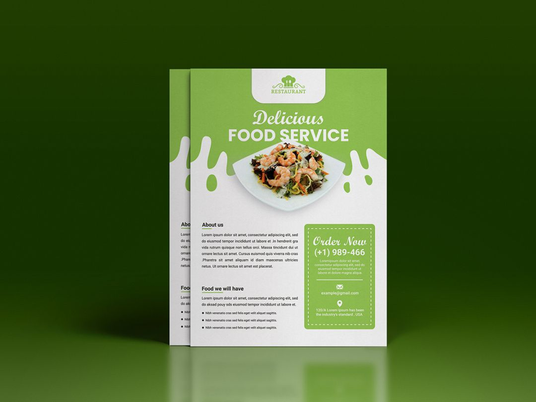 food sale flyer template free  uplabs food sale flyer template and sample