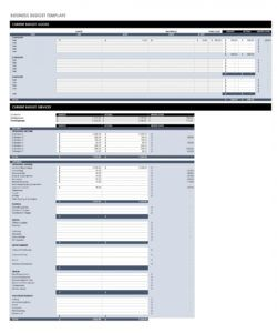 free 37 handy business budget templates excel google sheets ᐅ business unit budget template doc