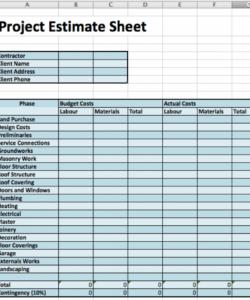 free 4 best design construction cost estimation methods  fohlio interior design budget template excel