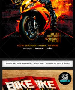 free bike night flyer template graphics designs & templates bike night flyer template doc